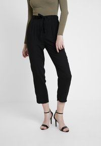 Monki - PALEY TROUSERS - Broek - black - 2