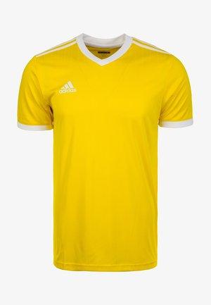 TABELA 18 - Print T-shirt - yellow/white