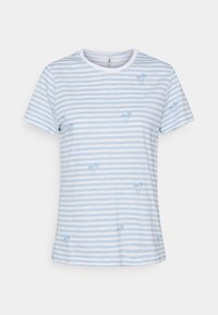 ONLY - ONLBONE LIFE TOP BOX - Print T-shirt - bright white - 5