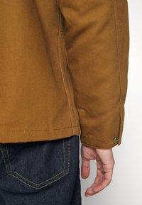 Carhartt WIP - MICHIGAN COAT DEARBORN - Kevyt takki - hamilton brown/tobacco rigid - 7