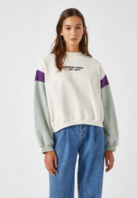 PULL&BEAR - Sweater - white - 0