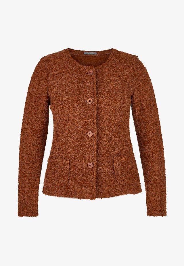 Summer jacket - cognac