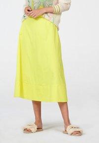 Laurel - A-line skirt - neongelb - 0