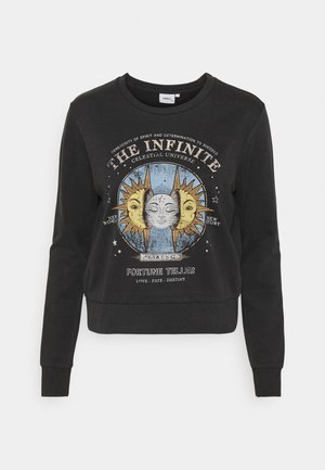 ONLLUCINDA LIFE LOTUS MOON - Sweatshirt - black
