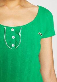 NAF NAF - OFLIPPO - T-shirts print - vert rio - 6