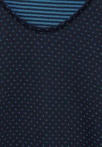 Cecil - Basic T-shirt - blau - 4
