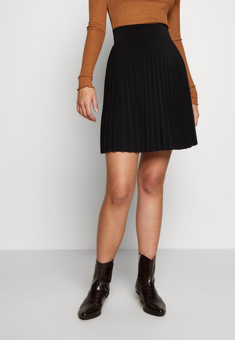 Anna Field Tall - A-linjainen hame - black