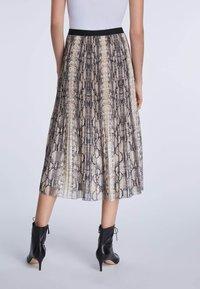 SET - A-line skirt - light stone grey - 2