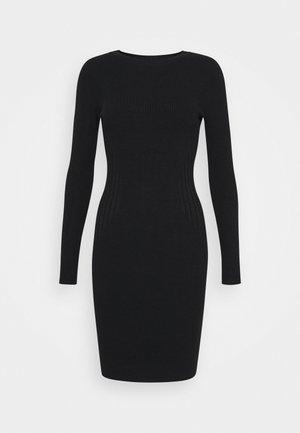 JUMPER DRESS - Robe fourreau - black
