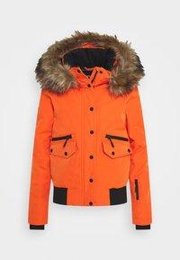 Superdry - EVEREST SNOW - Skijakke - havana orange - 7