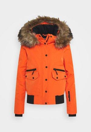 EVEREST SNOW - Skijakke - havana orange