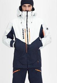 Mammut - Ski jacket - marine-bright white - 2