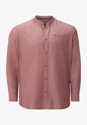 HEMD DUKE KENDALL - Formal shirt - orange gestreift