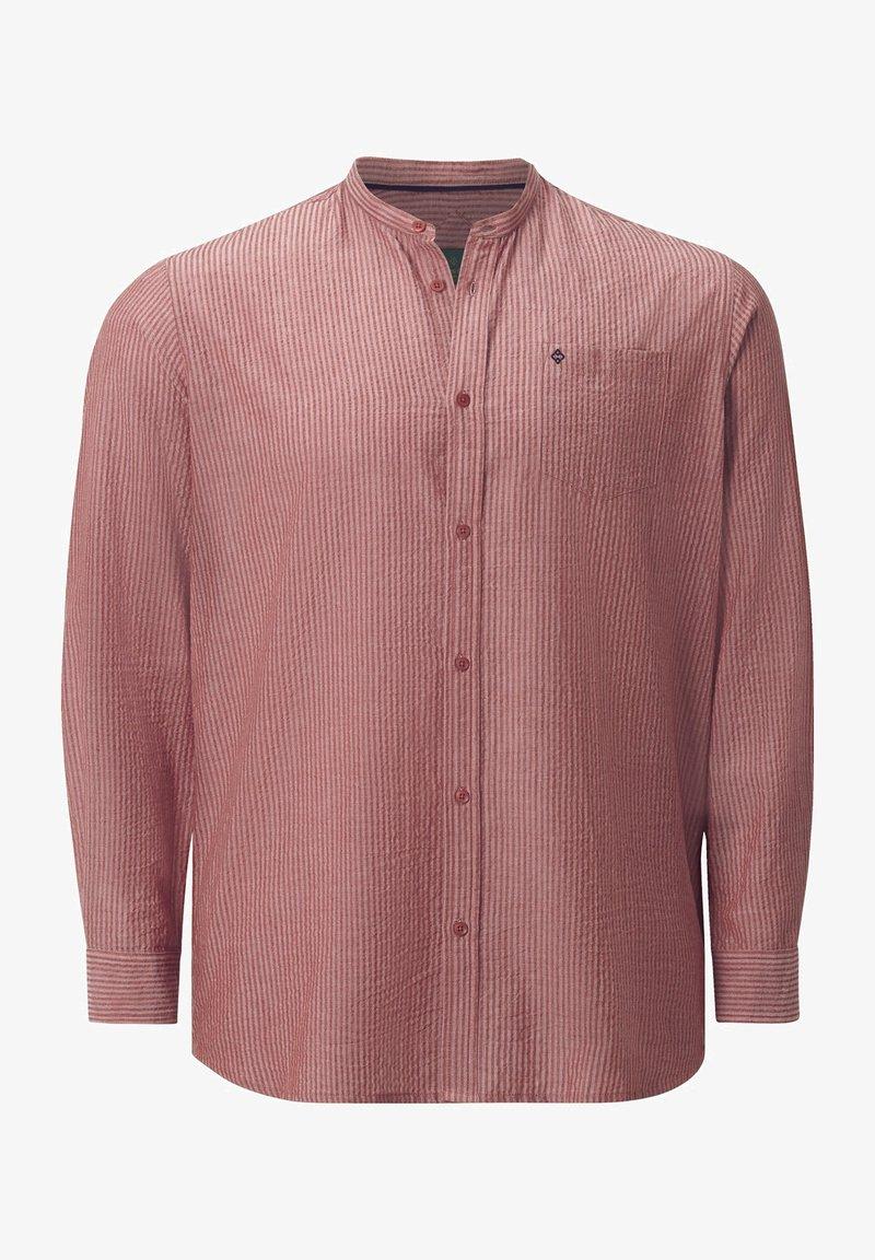 Charles Colby - HEMD DUKE KENDALL - Formal shirt - orange gestreift