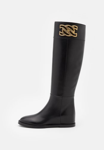 Wedge boots - nero