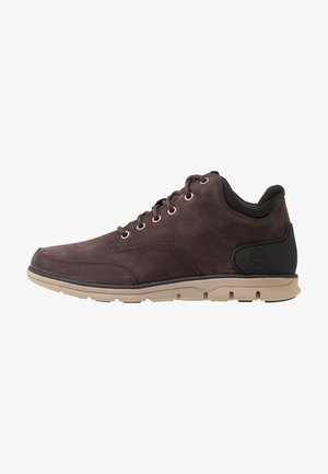BRADSTREET MOLDED - High-top trainers - dark brown