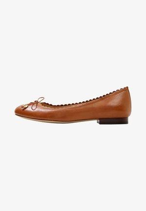 SUPER SOFT GLENNIE - Baleríny - deep saddle tan