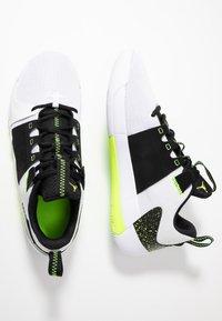 Jordan - Basketball shoes - white/volt/black - 1