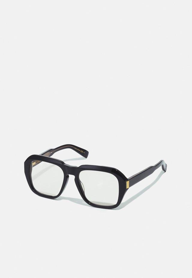 UNISEX - Sunglasses - black/black/yellow