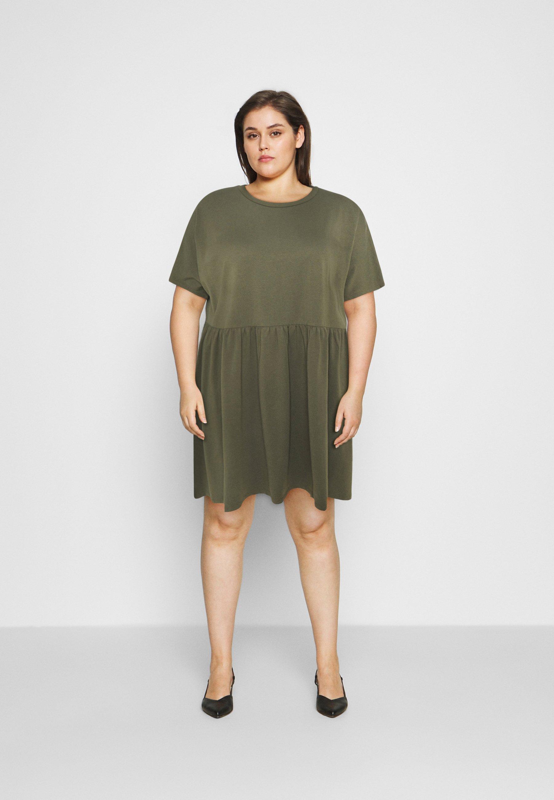 Damen NMKERRY SHORT DRESS - Jerseykleid