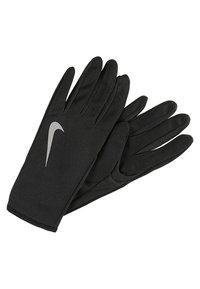 Nike Performance - WOMENS RUN DRY HAT AND GLOVE SET - Gants - black/black/silver - 3