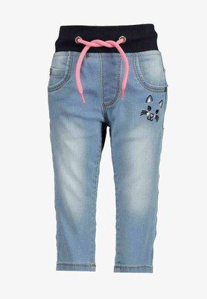 Jeans slim fit - jeansblau