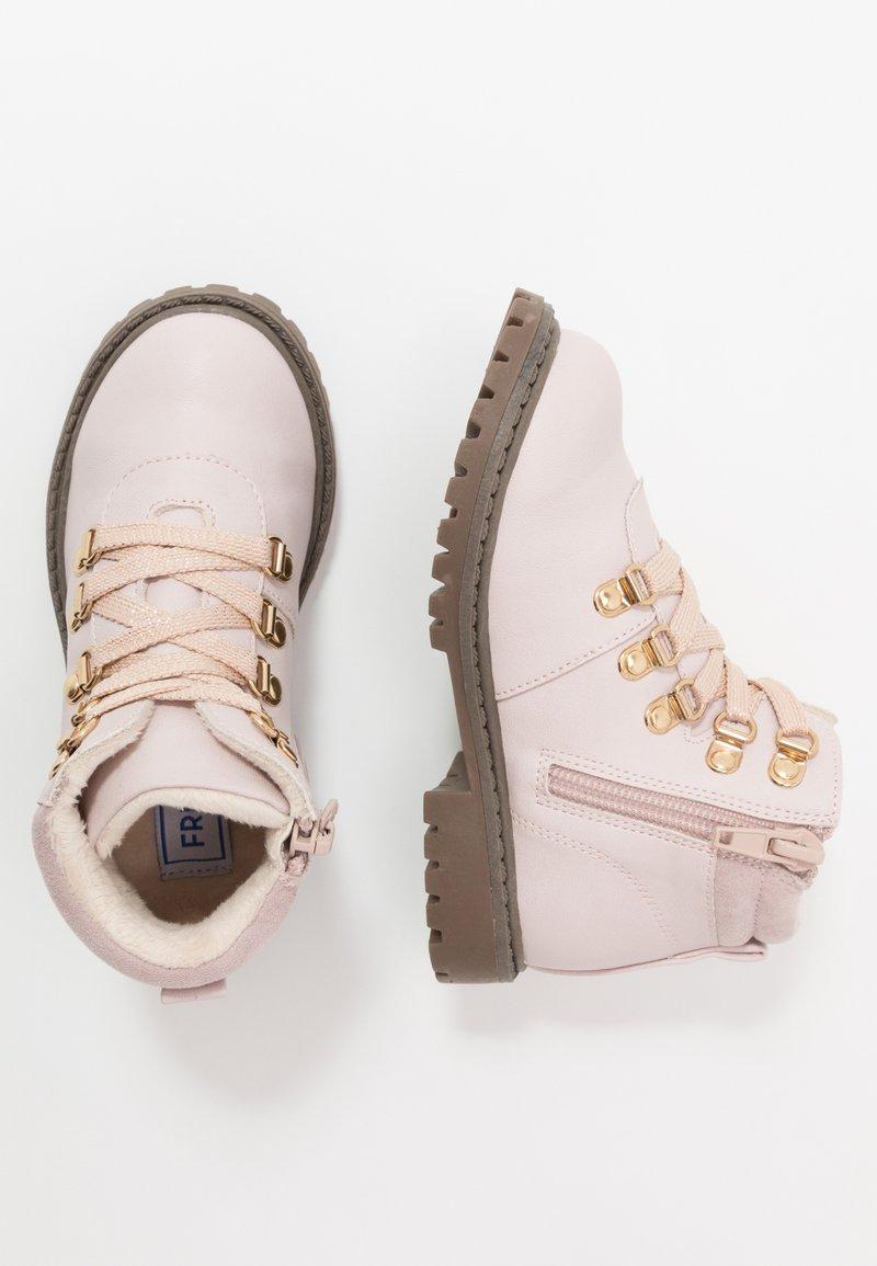 Friboo - Šněrovací kotníkové boty - lilac
