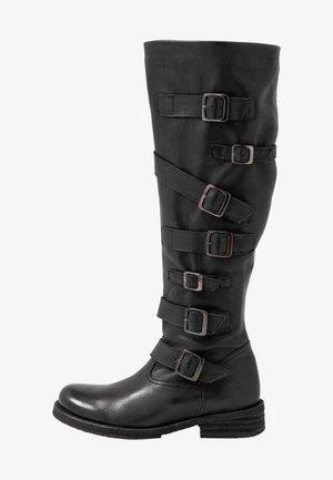 COOPER - Cowboystøvler - belga black