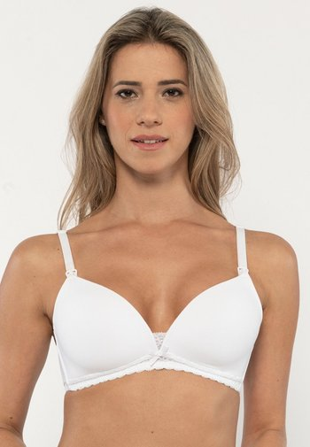 MAY NURSING BRA 2 PACK - Triangle bra - black/white