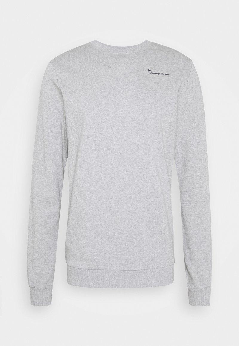 Knowledge Cotton Apparel - Felpa - grey melange