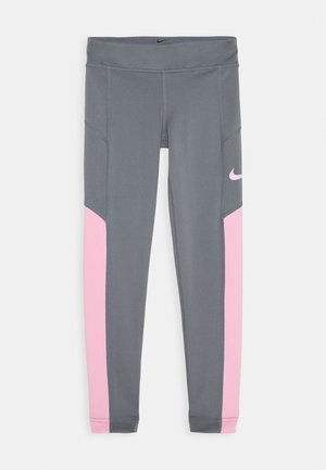 TROPHY - Leggings - pink/cool grey