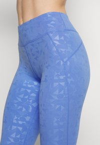 Sweaty Betty - ALL DAY EMBOSSED 7/8 LEGGINGS - Legging - blue - 4