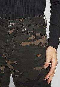ONLY Petite - ONLNINE ESTER PANTS - Pantaloni - peat - 3