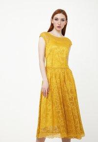 Madam-T - LOTTA - Cocktail dress / Party dress - gelb - 0