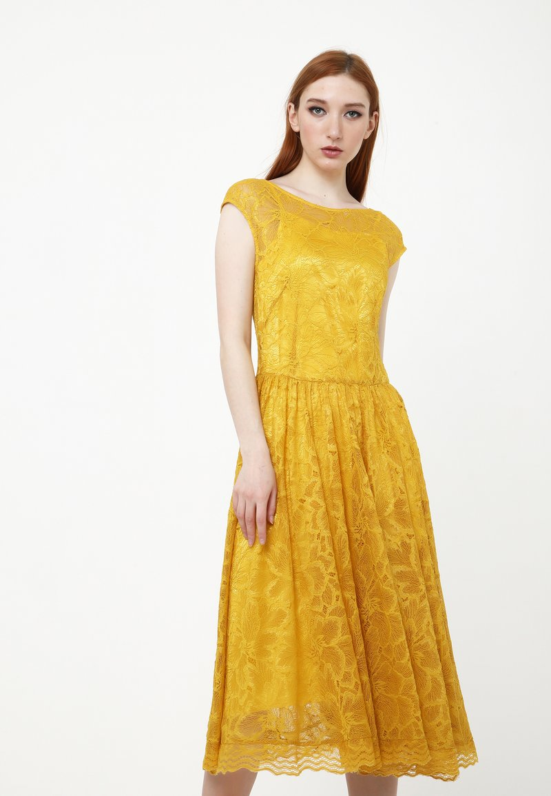 Madam-T - LOTTA - Cocktail dress / Party dress - gelb