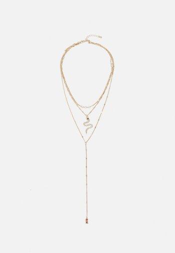 PCROSE COMBI NECKLACE - Smykke - gold-coloured