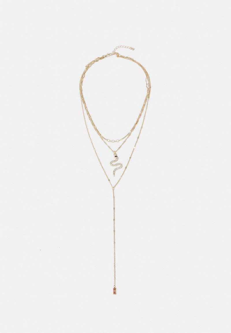 Pieces - PCROSE COMBI NECKLACE - Necklace - gold-coloured