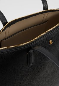 Lauren Ralph Lauren - PEBBLE GRAIN KEATON - Handbag - black - 4
