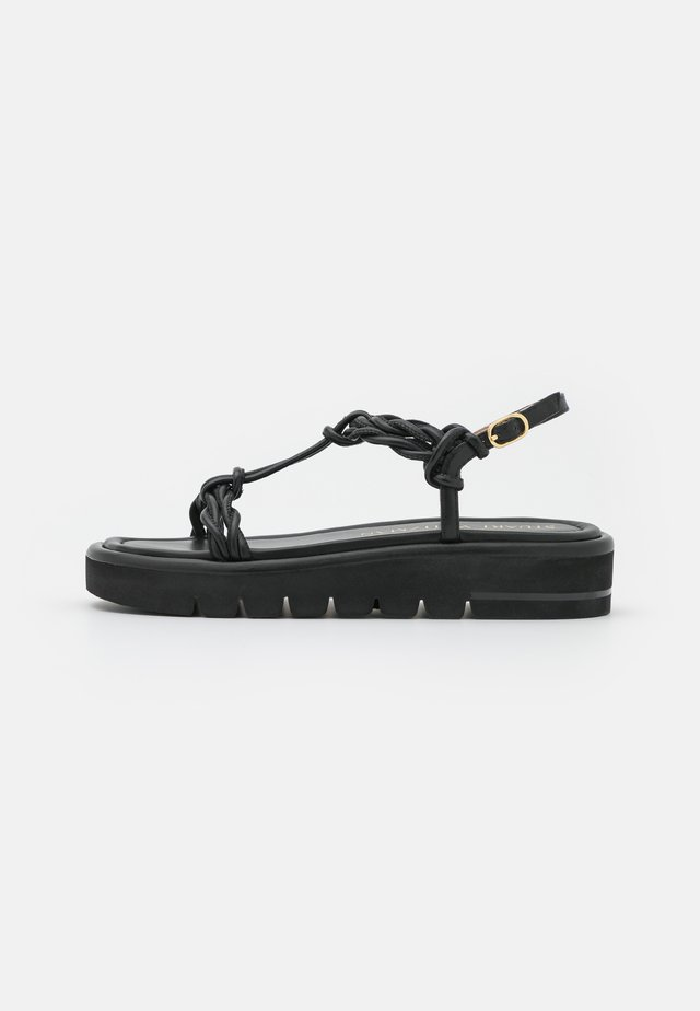 CALYPSO LIFT - Plateausandalette - black