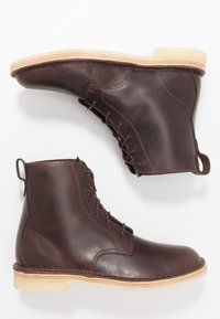 Clarks Originals - DESERT MALI - Lace-up ankle boots - chestnut - 1