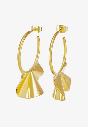 ENYA EARRINGS - Orecchini - gold-coloured
