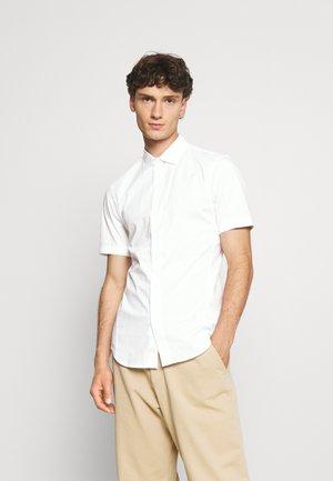 DRESSED SUPER SLIM - Shirt - white