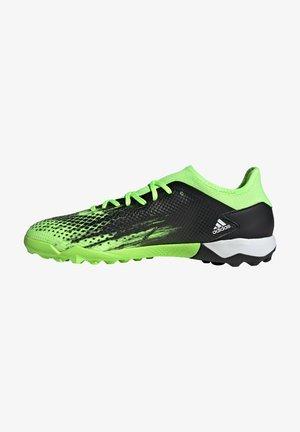 PREDATOR 20.3 - Voetbalschoenen met kunststof noppen - signal green / footwear white / core black