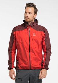 Haglöfs - L.I.M COMP JACKET  - Outdoor jacket - habanero/maroon red - 0