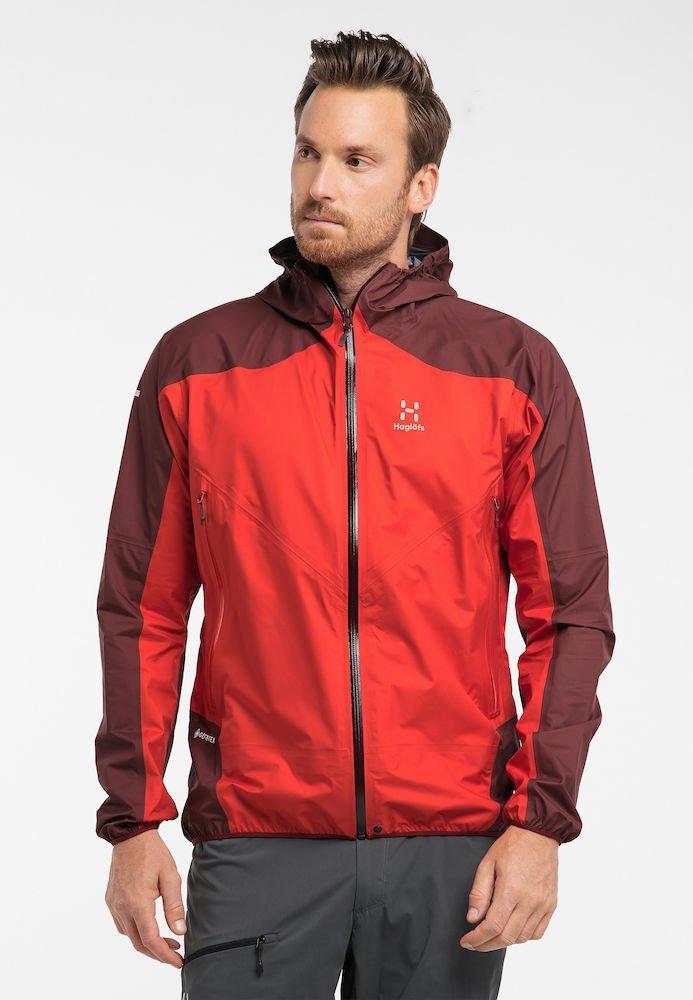 Haglöfs - L.I.M COMP JACKET  - Outdoor jacket - habanero/maroon red