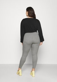 CAPSULE by Simply Be - SUPER SOFT  - Tygbyxor - black - 2