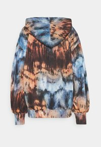 Missguided - TIE DYE OVERSIZED BALLON SLEEVE HOODY - Sudadera - multi - 1
