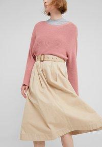 Polo Ralph Lauren - PIECE  - A-line skirt - classic tan - 3