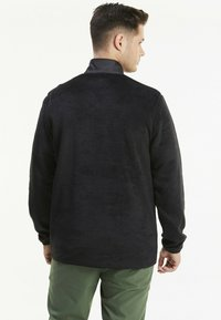 Puma Golf - SHERPA ZIP - Fleece jumper - black - 2