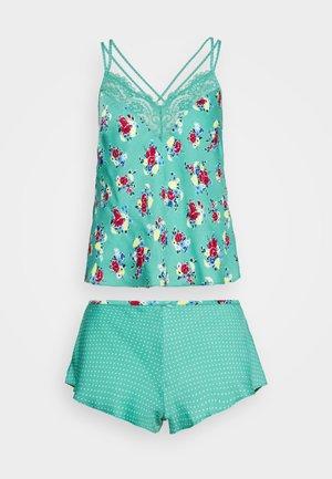 FLIRTY CAMI - Pyjama set - green mix